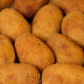 Nkwa Dua Starters Double breaded mozzarella cheese logs